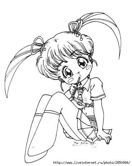 скачать аниме рисунки карандашом: