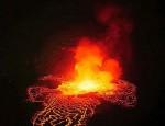 Заирский вулкан Ньирагонго