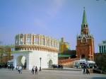 Кутафья башня и Троицкая.