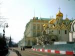 Боровицкая башня, Боровицкие ворота, Большой Кремлевские Дворец и  Благовещенский собор.