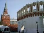 Троицкая и Кутафья башни. Дворец съездов.