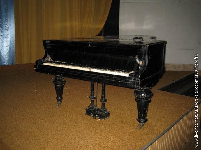 7.Потрясающее пианино...