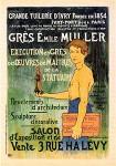 Alexandre Charpentier. Gres Emile Muller, Maitres de l'Affiche
