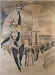 H. Gray (Henri Boulanger). Theatre de l'Opera proof wo letters
