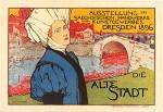 Otto Fischer. Alte Stadt, Maitres de l'Affiche