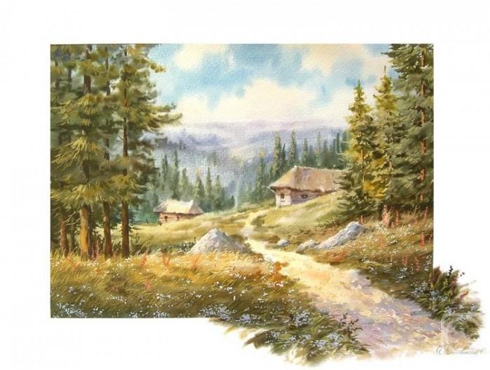 Кроповинский сергей пейзажи