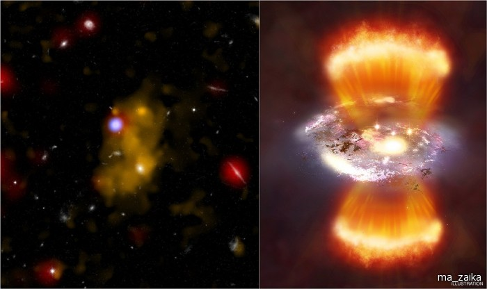 Невидимая Вселенная: снимки телескопа Chandra - АСТРОЛОГИЯ