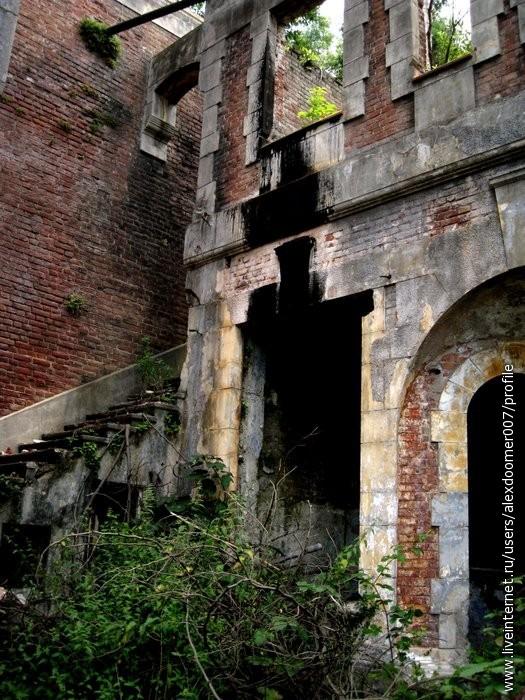 7.Тем временем вдали мы увидели трубы и стены 2 дворца и двинули к нему