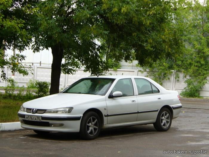 Автоинструктор Peugeot 406 avto.bakero.ru
