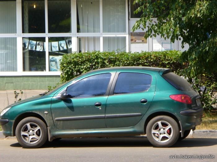 Peugeot 206 Автоинструктор avto.bakero.ru