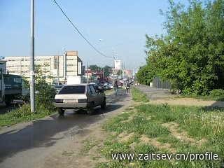 Объезд пробки по тротуару zaitsev.cn Дмитрий Зайцев