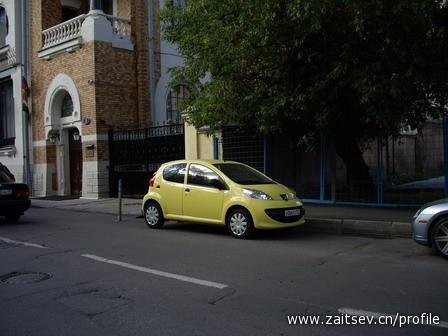 Peugeot 107 zaitsev.cn Дмитрий Зайцев