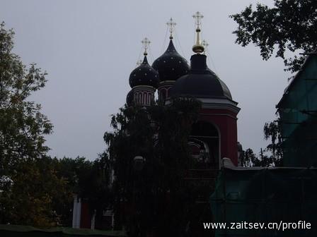 церковь Тихвинской иконы Божией Матери в селе Алексеевском zaitsev.cn Дмитрий Зайцев