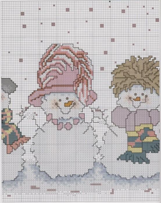 Замечательные детские картинки в схемах для вышивки, вязания, точечной техники, отделки стразами, выжигания и т.д.