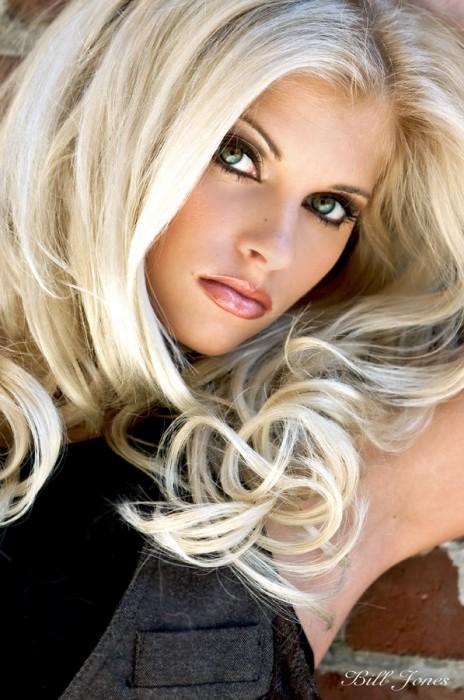 Пися блондинки фото