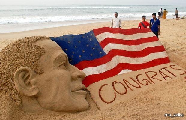 Фигуры из песка индийского скульптора Sudarsan Pat