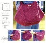 вязаные сумки спицами схемы. сумки вязанные спицами схемы бесплатно.