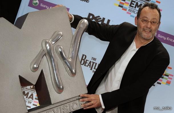 На пресс-конференции MTV EMA 2009.