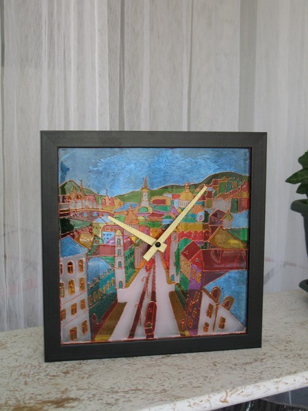 wall clock painting tutorial