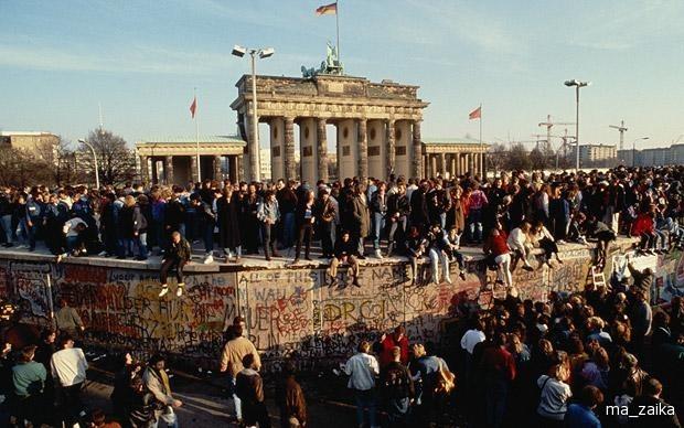 Картинки по запросу разрушение берлинской стены картинки