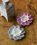 Вязание крючком ажурные мотивы с объемными цветами схемы и видео.