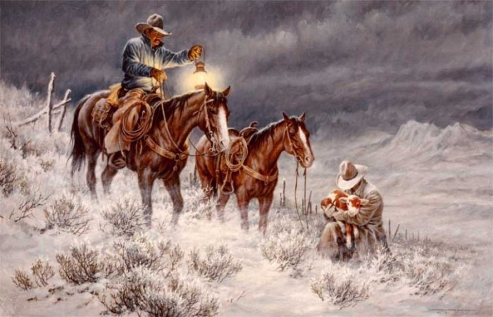 Larry fanning дикий пустынный запад
