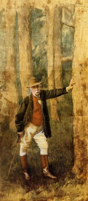 Джеймс Тиссо Автопортрет 1898 г