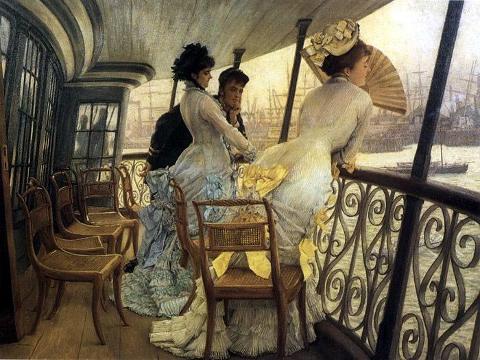 На корабле. 1876