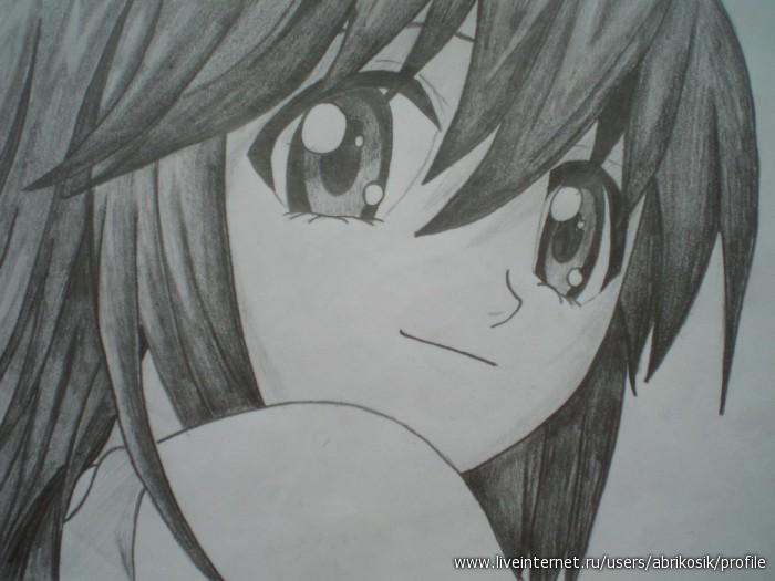 Аниме рисунки карандашом картинки