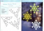 Как сделать снежинку из бумаги?  Схемы, узоры.