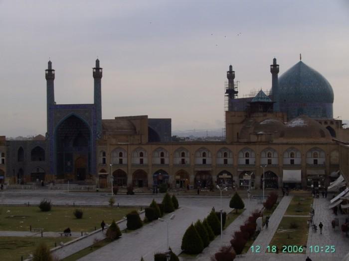 Иран. Исфахан. Площадь Имама 71981