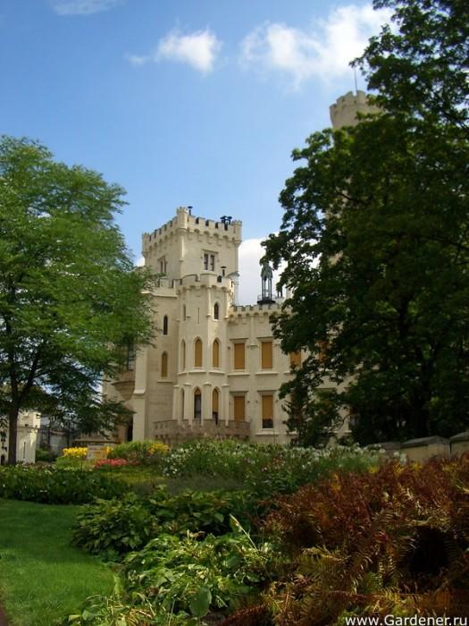 Замок Глубока над Влтавой (The Hluboka Castle) 83438