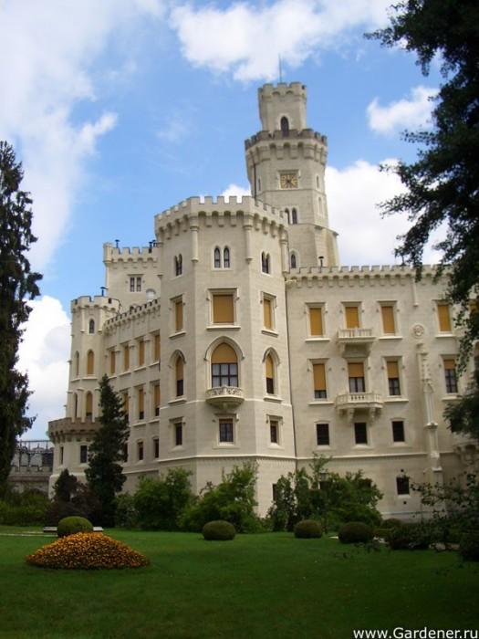 Замок Глубока над Влтавой (The Hluboka Castle) 66962