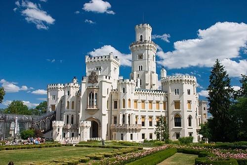 Замок Глубока над Влтавой (The Hluboka Castle) 45272