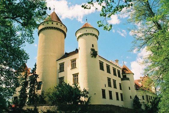 ЧЕХИЯ: Замок Конопиште 18688