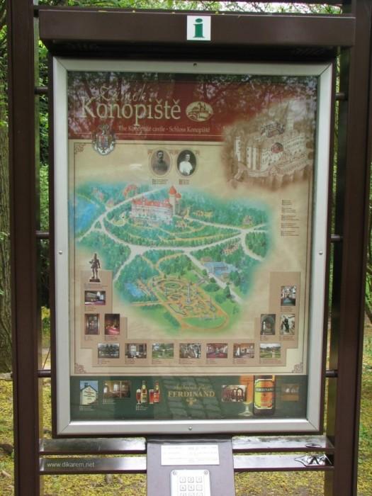 ЧЕХИЯ: Замок Конопиште 75904