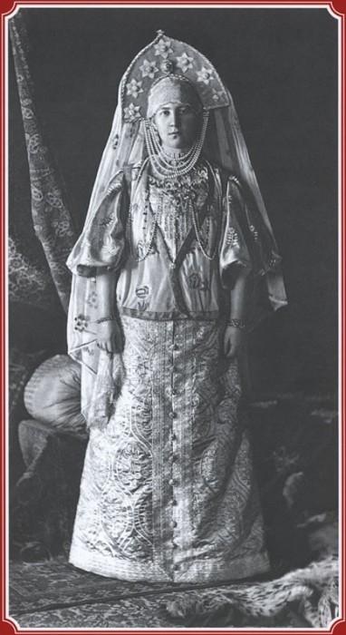Великая княгиня Мария Георгиевна - Крестьянка города Торжка