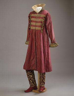 Маскарадный костюм гофмейстера двора графа Алексея Александровича Бобринского - Боярин