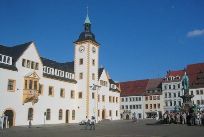 Фраиберг-город в Саксонии 81056