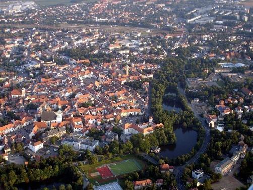 Фраиберг-город в Саксонии 72558