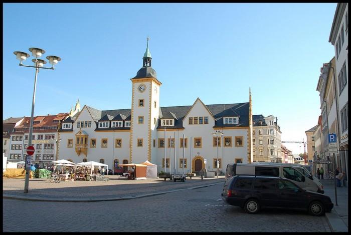 Фраиберг-город в Саксонии 17443