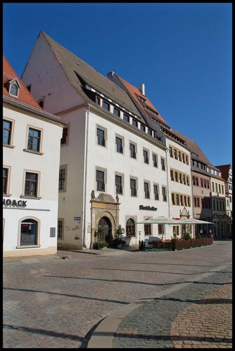 Фраиберг-город в Саксонии 71827