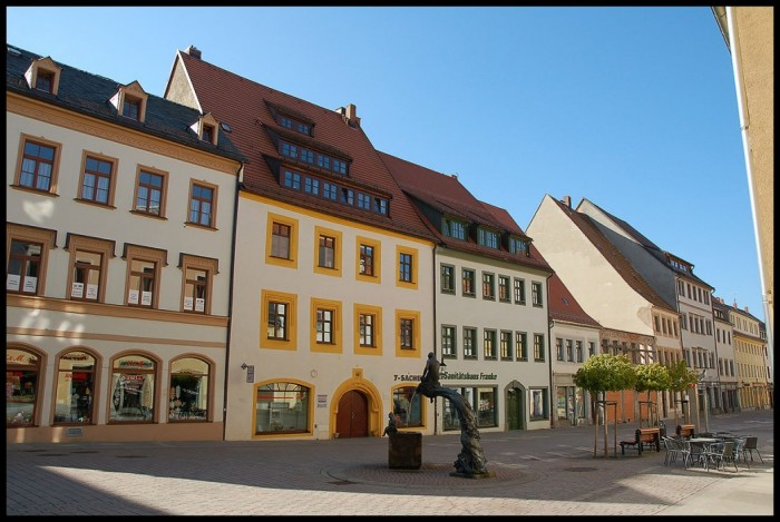 Фраиберг-город в Саксонии 96245