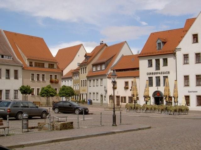 Фраиберг-город в Саксонии 55902