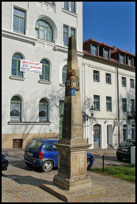 Фраиберг-город в Саксонии 13813