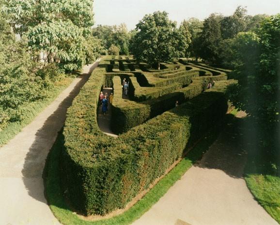 Сад дворца Хэмптон-Кор 76607