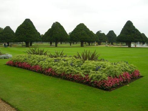 Сад дворца Хэмптон-Кор 18093