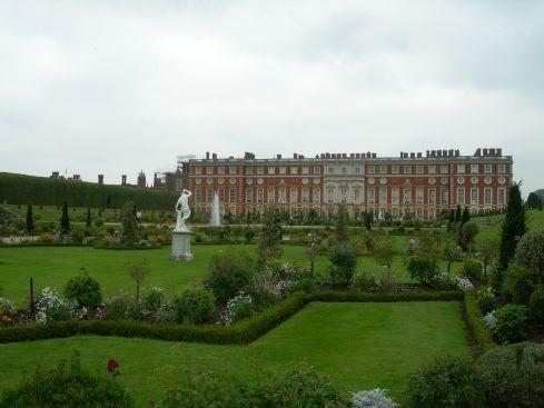Сад дворца Хэмптон-Кор 36250