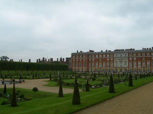 Сад дворца Хэмптон-Кор 75142