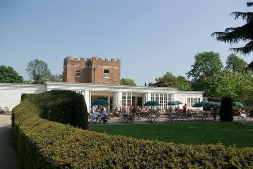 Сад дворца Хэмптон-Кор 36613